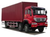 中国重汽ZZ5254XXYK56C6C1厢式运输车