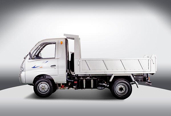 黑豹汽车1027系列自卸式运输车高清图 - 外观