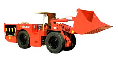 蓝田LTD100电动铲运机高清图 - 外观