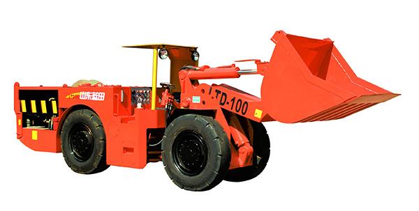 蓝田LTD100电动铲运机