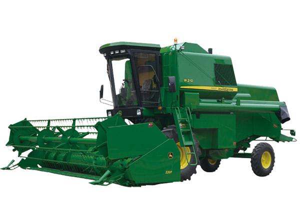 约翰迪尔农机W210谷物联合收割机高清图 - 外观