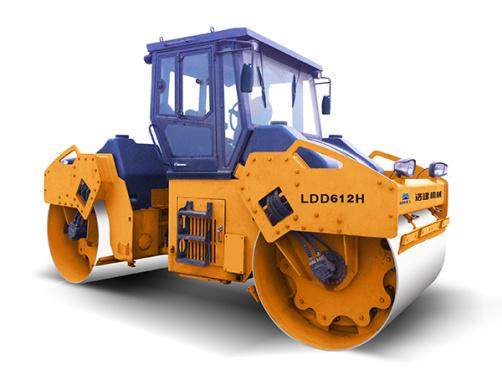 國機洛建LDD612H-614H全液壓雙鋼輪振動壓路機