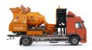 力诺钢铁侠C5滚筒式搅拌车载泵高清图 - 外观