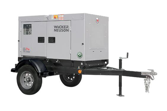 威克诺森G 14移动发电机