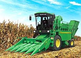 约翰迪尔农机Y215玉米果穗收割机