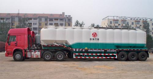 中建機械YCZ9390GFL立式罐散裝物料車