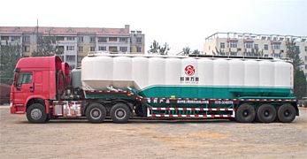 中建机械YCZ9390GFL立式罐散装物料车