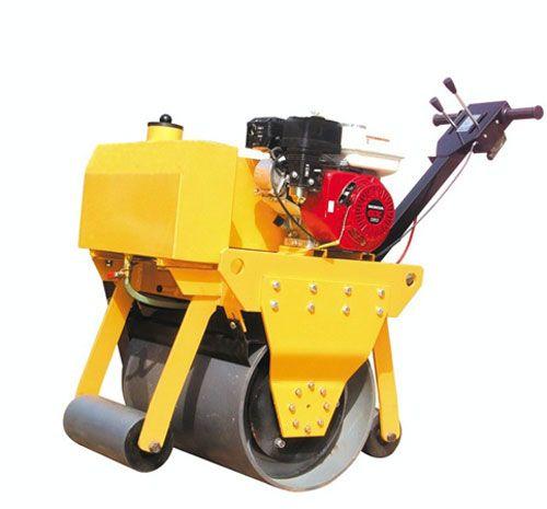 峰源机械FYYL-600/600A手扶式单钢轮振动压路机高清图 - 外观