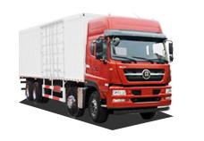 中国重汽ZZ5313XXYN466GD1厢式运输车高清图 - 外观