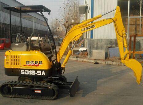 恒遠SD18-9A微型挖掘機