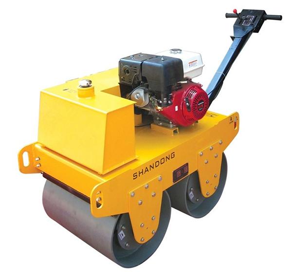 峰源机械FYYL-600S手扶式双钢轮振动压路机高清图 - 外观