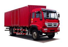 上海振中ZZ5164XXYG5616C1牵引汽车高清图 - 外观