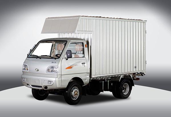 黑豹汽车1025系列厢式运输车高清图 - 外观