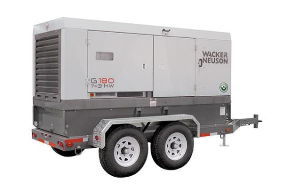 威克诺森G 150, G 180移动发电机