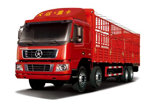 大运DYX5312仓栅式载货车高清图 - 外观