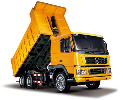 大运DYX3251自卸车高清图 - 外观