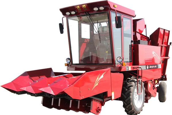 勇猛4YZ-3Z自走式玉米收获机高清图 - 外观