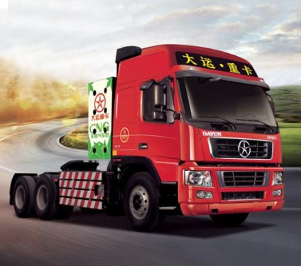 大运CGC4253(CNG牵引车)压缩天然气牵引车
