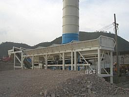 中筑JWB400②型紧凑式稳定土厂拌设备