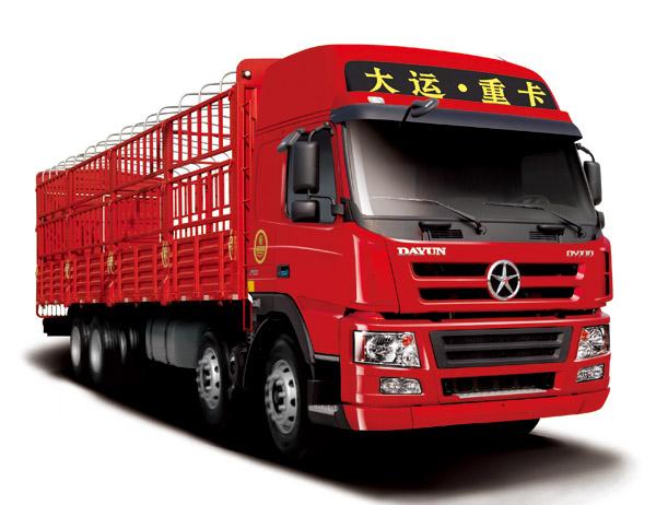 大运DYX1312载货车高清图 - 外观