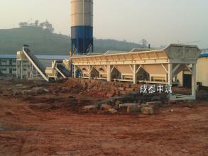 中筑WBC400型模块式稳定土厂拌设备高清图 - 外观