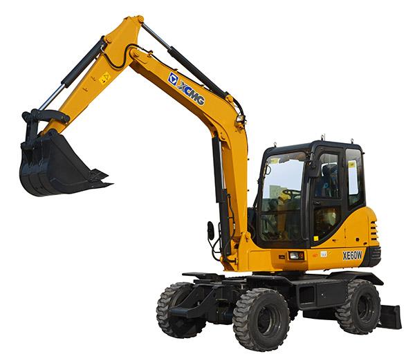 徐工XE60W挖掘机高清图 - 外观