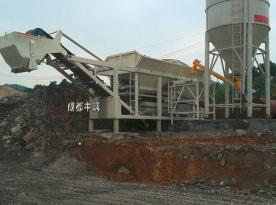 中筑ZWB400整体式稳定土厂拌设备