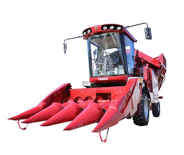 勇猛4YZ-4H(SQ)豪华智能型自走式玉米收获机高清图 - 外观