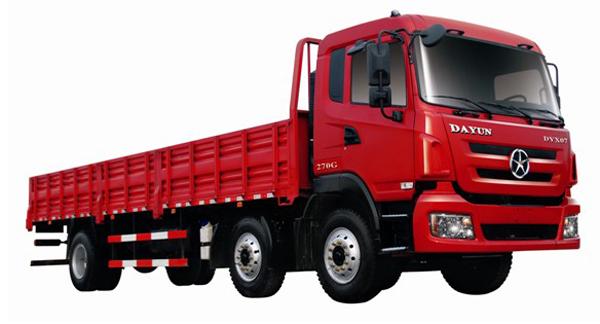 大运CGC1254载货车高清图 - 外观