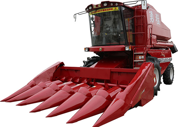 勇猛4LY-6(ZL2130)自走式玉米联合收获机高清图 - 外观
