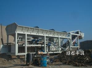中筑JWB400①型紧凑式稳定土厂拌设备高清图 - 外观