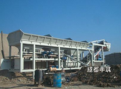 中筑JWB400①型緊湊式穩定土廠拌設備