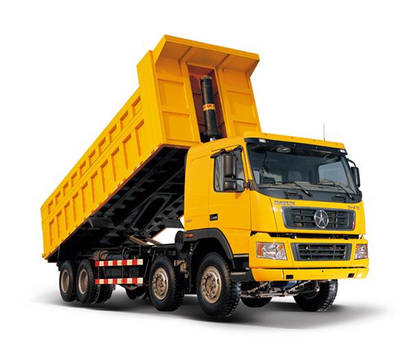 大运DYX3311自卸车高清图 - 外观