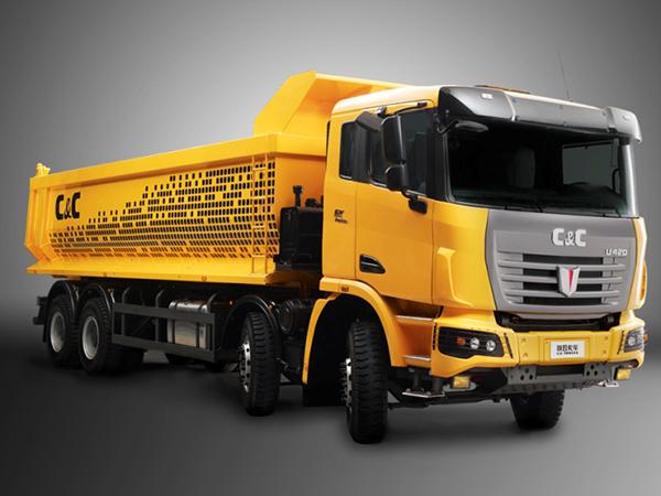 联合卡车重型工程自卸车高清图 - 外观