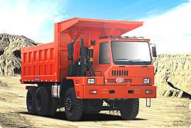 青岛解放矿威 6×4自卸车