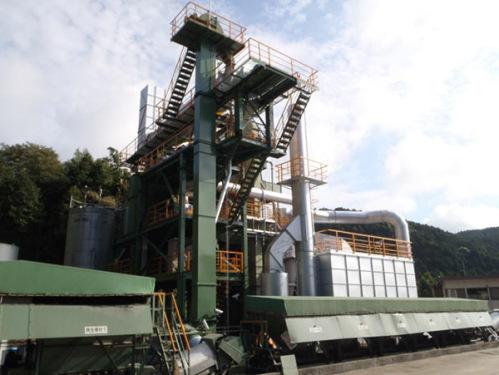 田中鐵工TRD-60熱再生瀝青拌合設備(配套2000型~4000型)