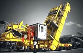 玛连尼ROADBATCH超级移动间歇式沥青搅拌站