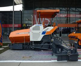 中联重科SUPER130A超级摊铺机高清图 - 外观