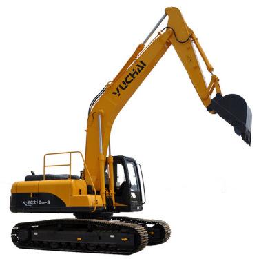 玉柴YC210LC-8挖掘机