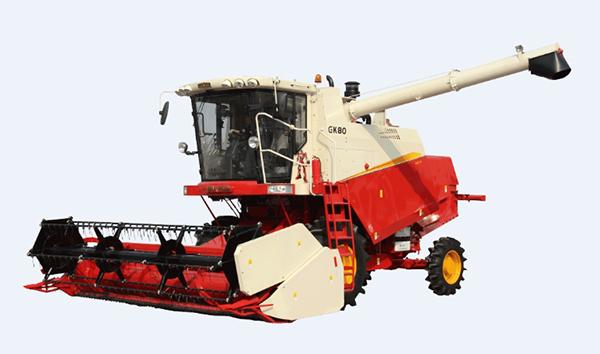 雷沃阿波斯GK80(4LZ-8)小麦机高清图 - 外观