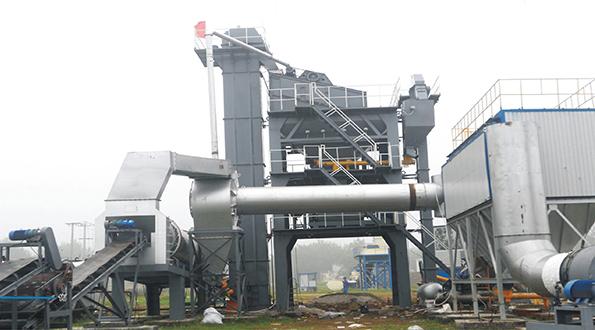 金运LQB1500强制式沥青混合料搅拌设备高清图 - 外观