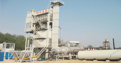 金运LQB2000强制式沥青混合料搅拌设备高清图 - 外观