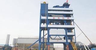 金运LQB3000强制式沥青混合料搅拌设备