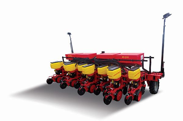 雷沃阿波斯12行精量免耕施肥播种机高清图 - 外观