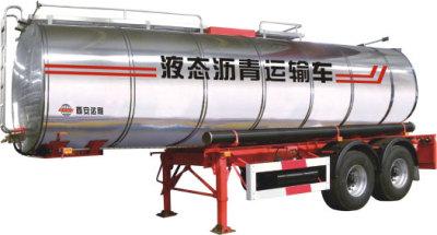 達剛路機DGL9350GLY25半掛式液態瀝青運輸車高清圖 - 外觀