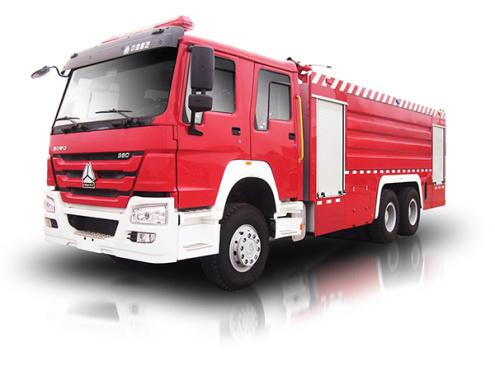 中联重科ZLJ5330GXFPM180型泡沫水罐消防车