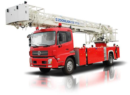 中联重科ZLJ5151JXFYT25型多功能云梯消防车