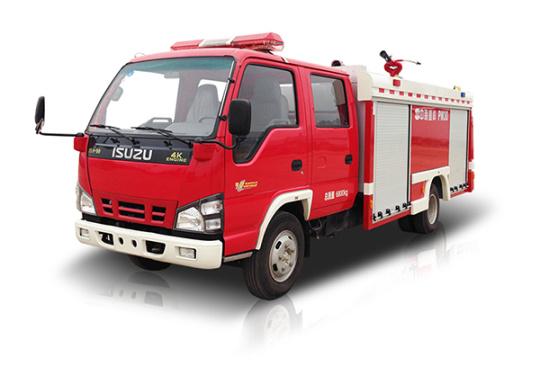 中联重科ZLJ5070GXFPM30型泡沫水罐消防车
