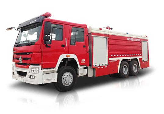 中联重科ZLJ5280GXFPM120型泡沫水罐消防车