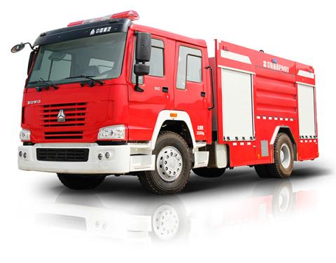 中联重科ZLJ5200GXFPM80型泡沫水罐消防车